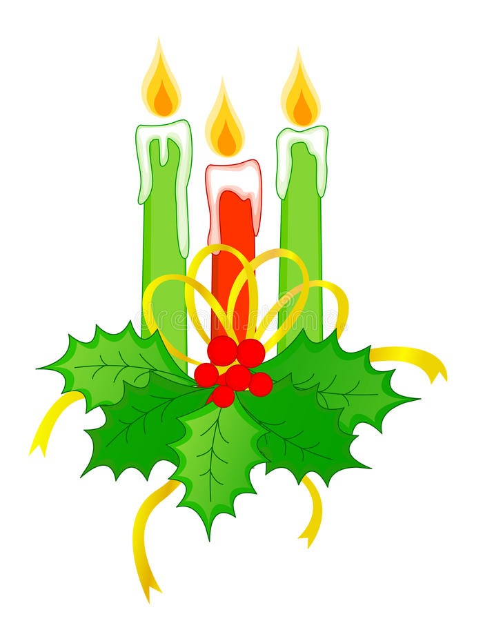 Download Christmas candles stock vector. Illustration of decorations - 11217563