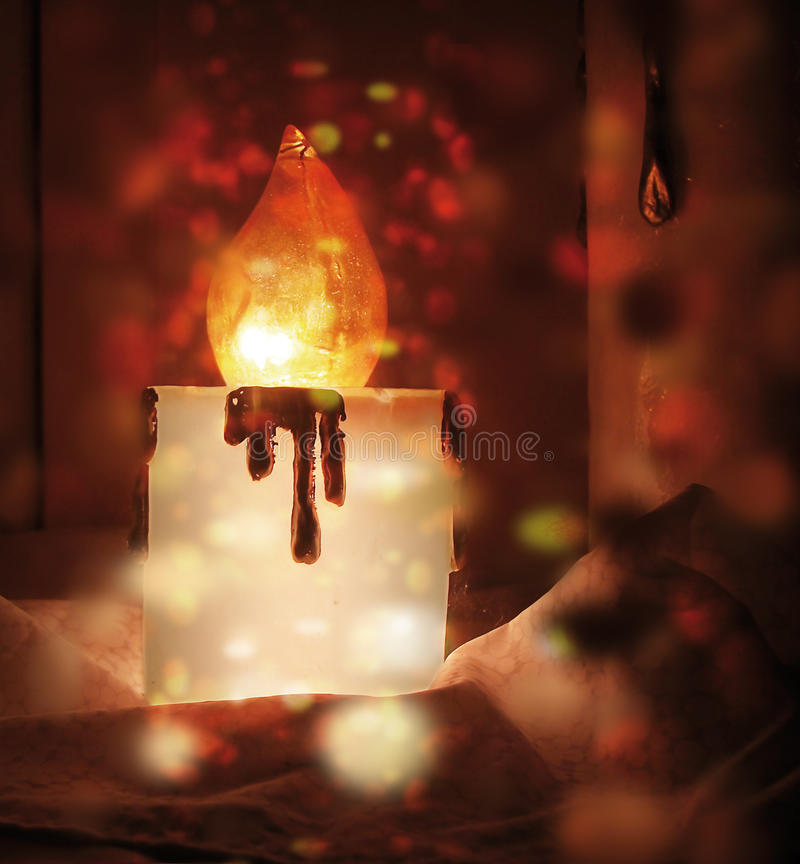 Download Christmas candles stock image. Image of decorative, advent - 21943749
