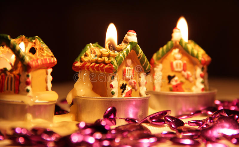 Download Christmas candles stock photo. Image of romantic, party - 22803422