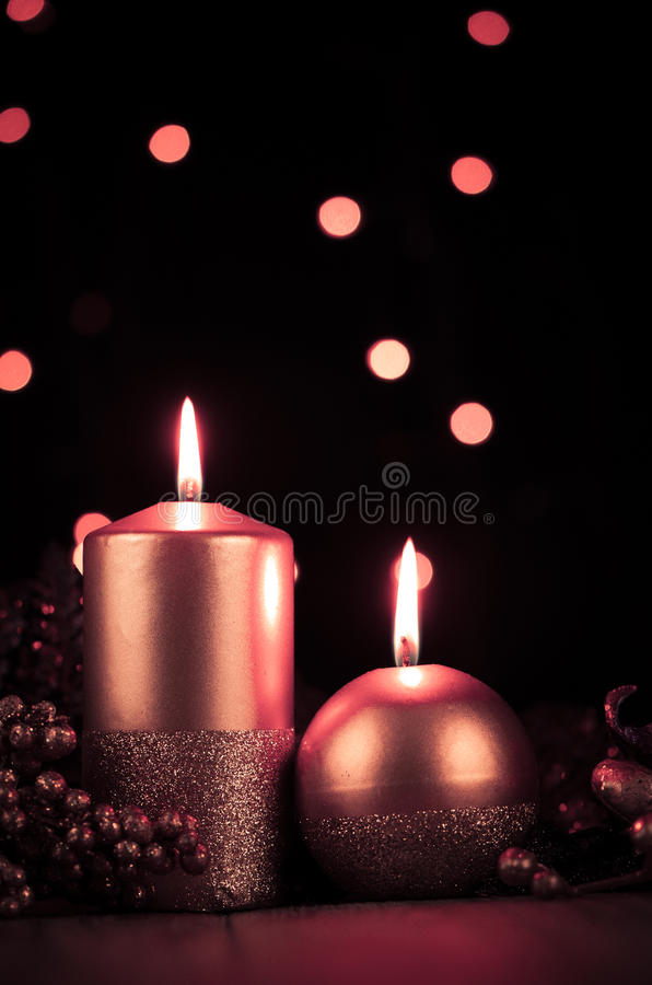Download Christmas Candles Royalty Free Stock Photo - Image: 28003625