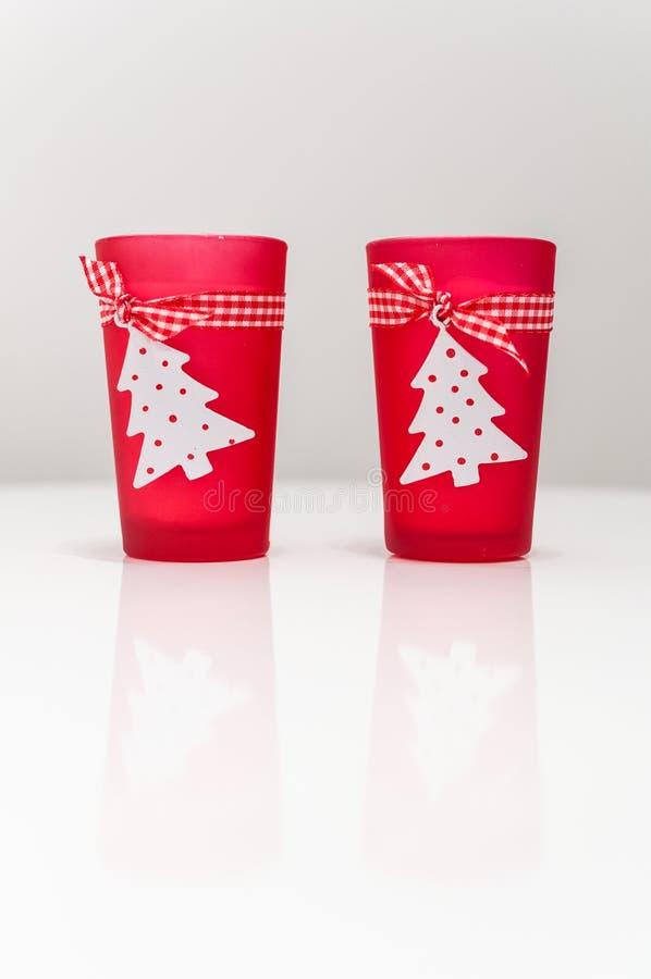 Christmas Candles Stock Image
