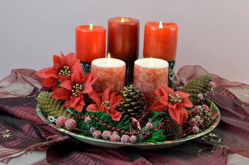 Download Christmas Candles Royalty Free Stock Photos - Image: 28317458