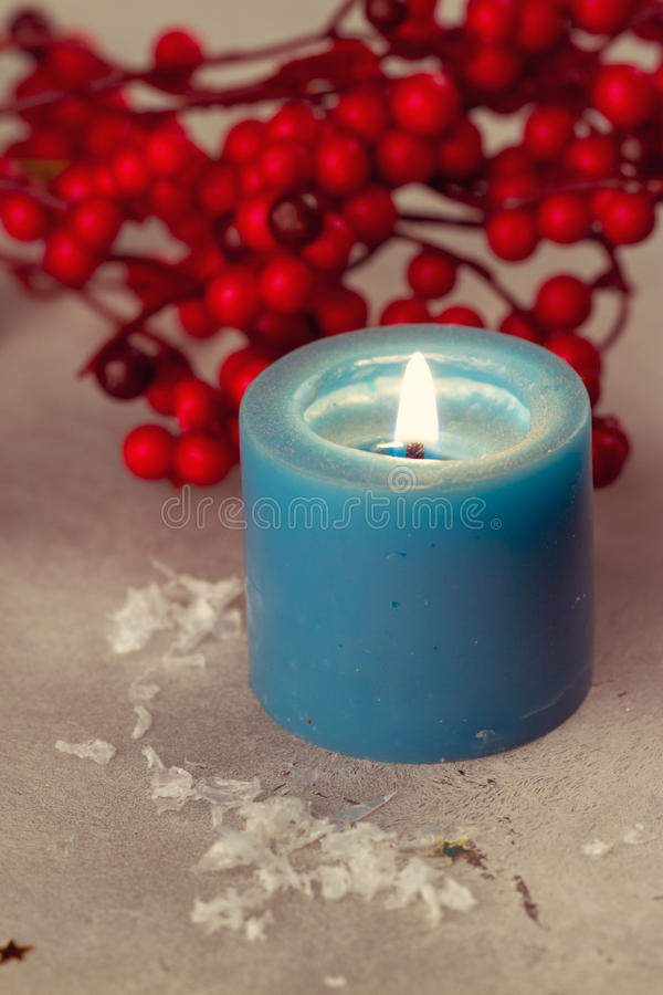 Download Christmas candles stock photo. Image of celebrate, christmas - 42670622