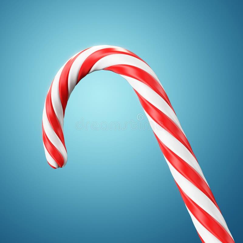 Christmas candy cane royalty free illustration