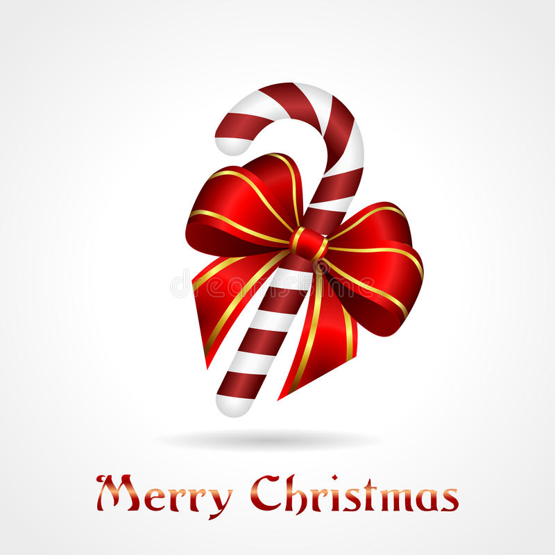 Download Christmas candy-cane stock vector. Image of cane, time - 26960092