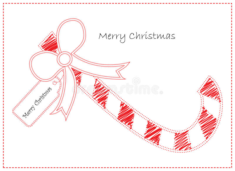 Download Christmas candy card stock vector. Illustration of file - 10274242