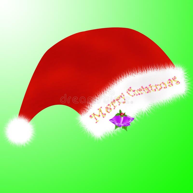 Christmas cap royalty free stock image