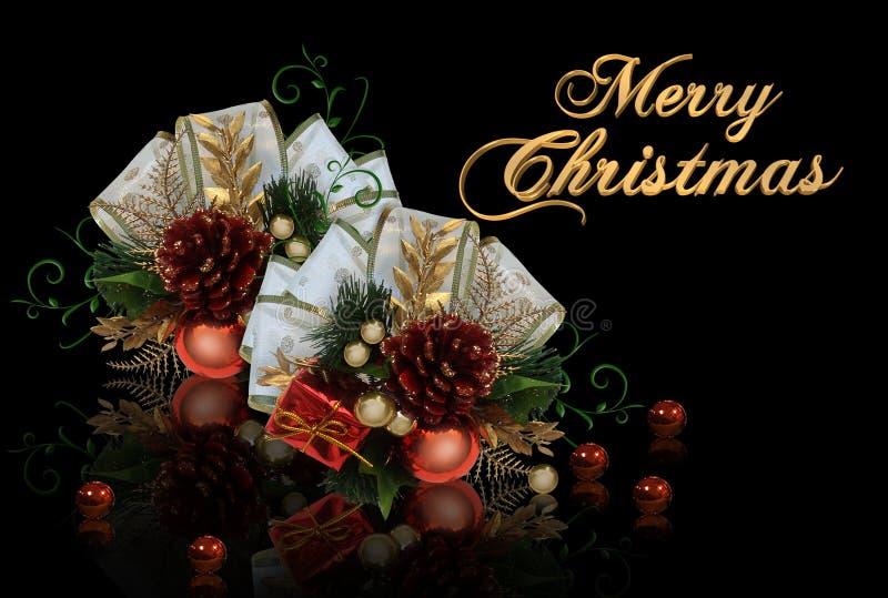 Christmas card vector illustration