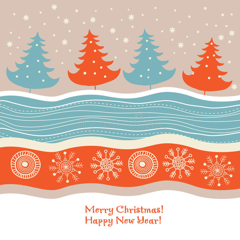 Download Christmas  card stock vector. Image of gift, celebration - 11915368