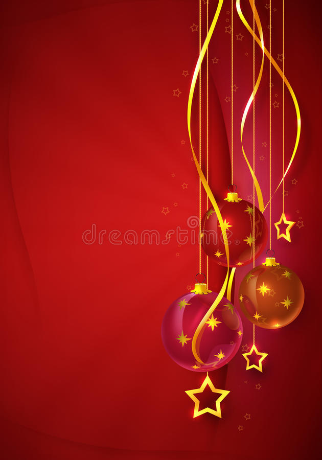 Download Christmas card stock illustration. Image of tree, decoration - 14985201