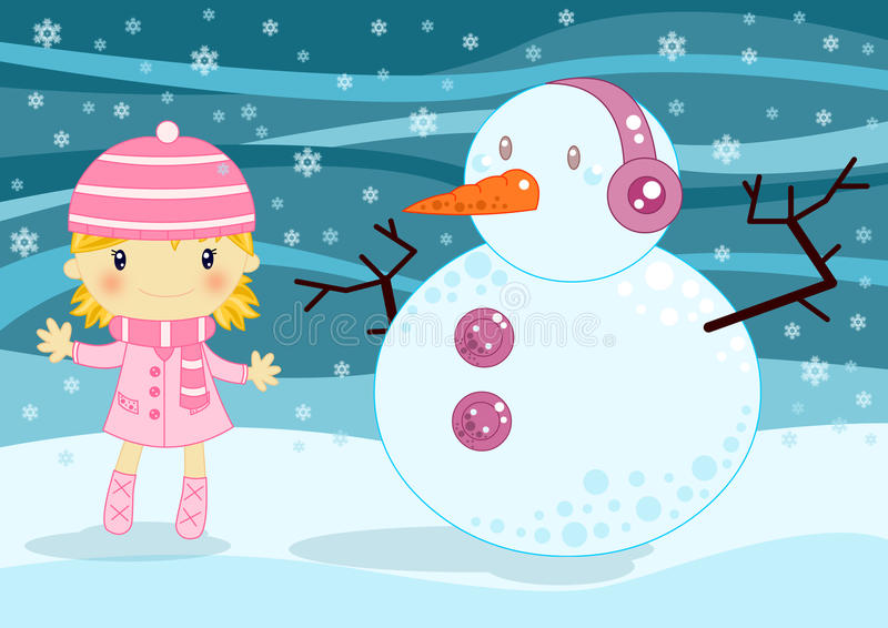Download Christmas card stock illustration. Image of kids, card - 15987613