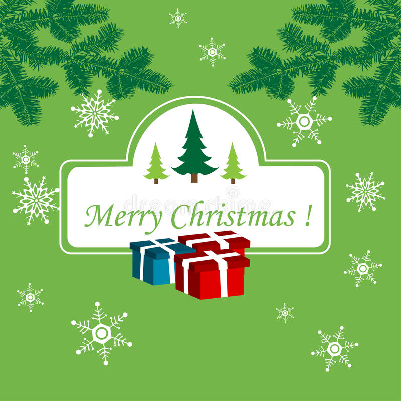 Download Christmas card stock vector. Illustration of illustration - 16319686