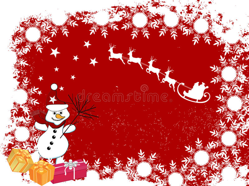 Download Christmas card stock vector. Illustration of illustration - 16595322