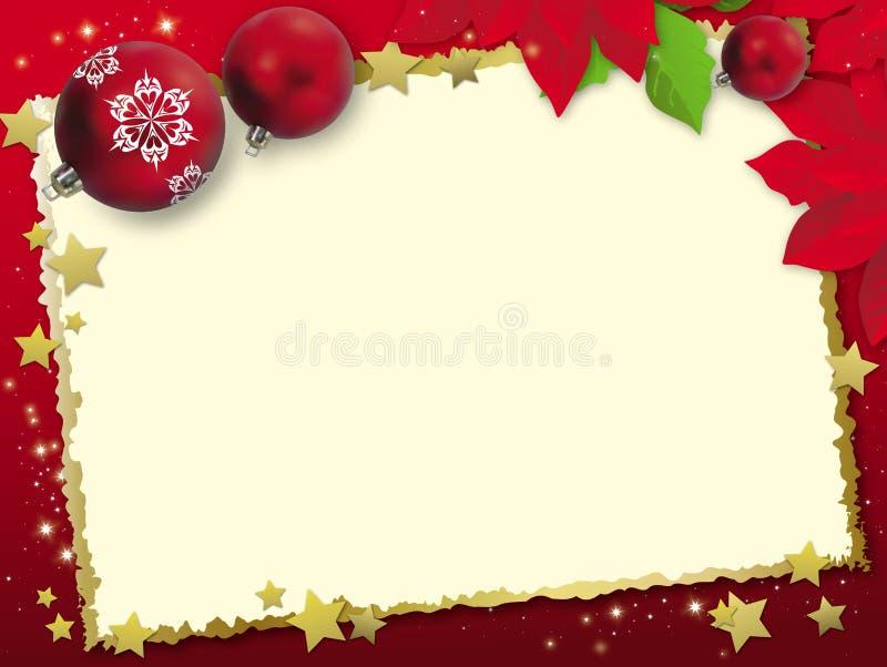 Christmas card stock illustration