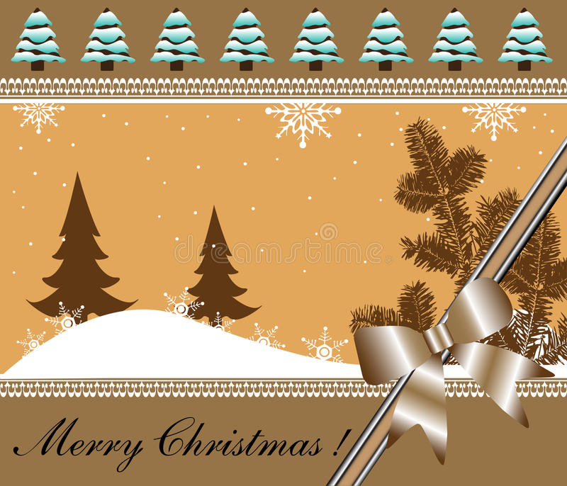 Download Christmas card stock vector. Illustration of artistic - 17309957