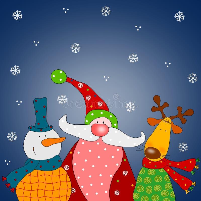 Download Christmas card stock illustration. Illustration of dreams - 19996510