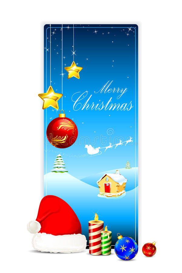 Christmas Card stock illustration