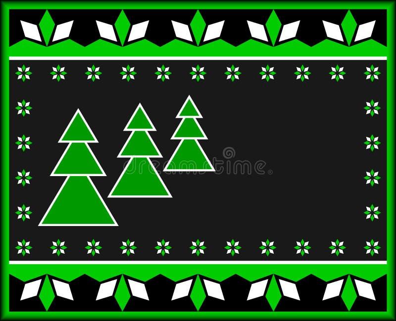 Download Christmas Card. stock vector. Image of creative, border - 21803405