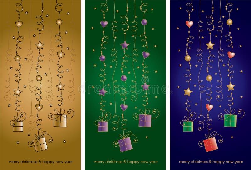 Download Christmas card stock vector. Image of glamorous, ball - 22157041