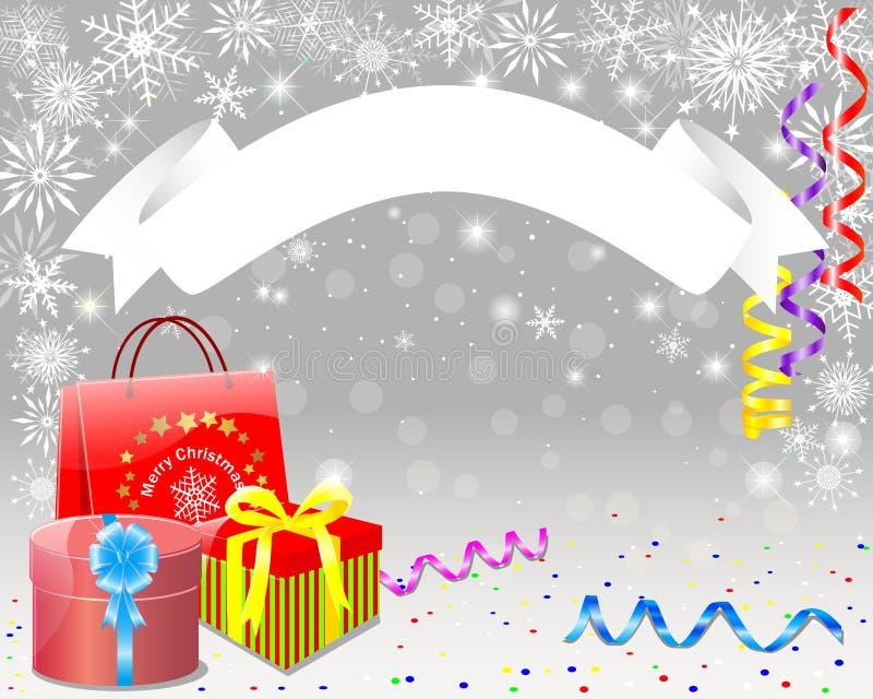 Christmas card. stock illustration