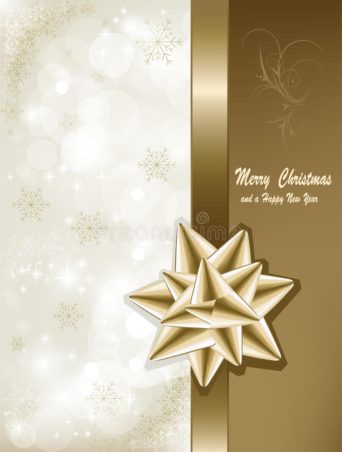 Download Christmas card stock vector. Illustration of element - 22414778