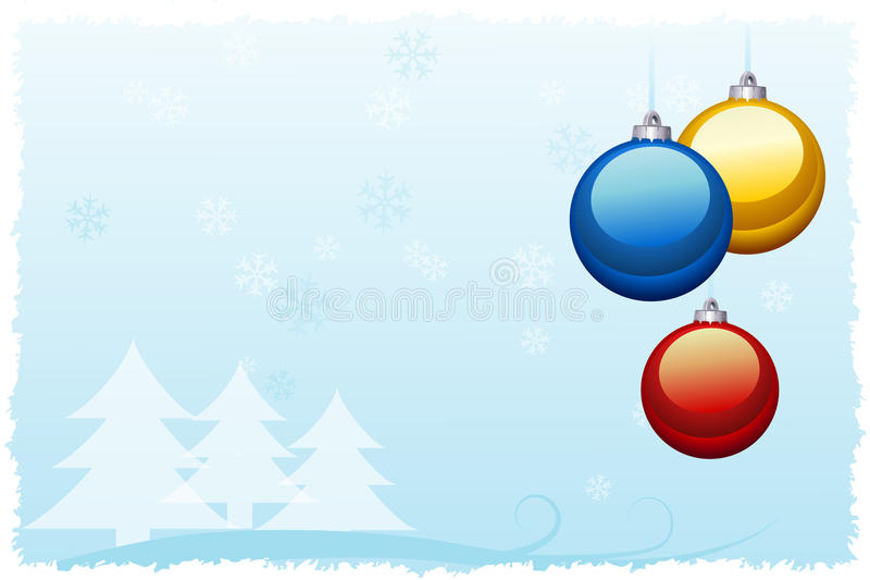 Download Christmas card stock vector. Illustration of vector, template - 27865317