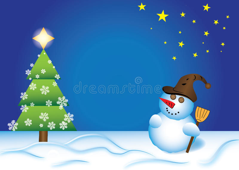 Download Christmas card stock illustration. Image of horizontal - 28200385
