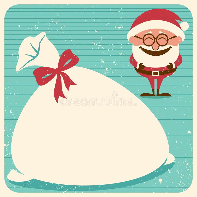 Download Christmas Card 3 stock vector. Illustration of sack, copyspace - 27461235
