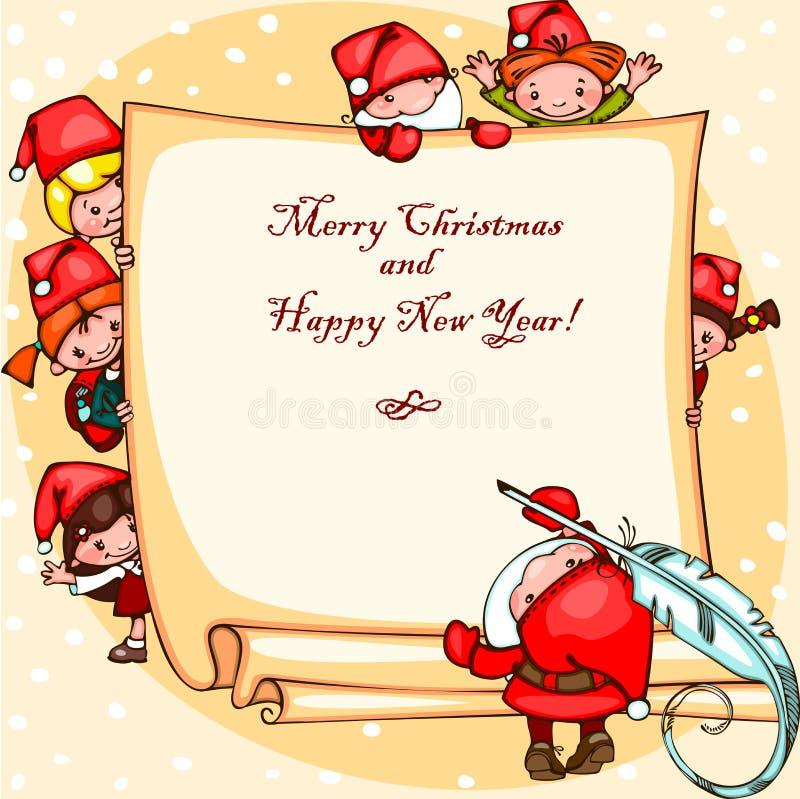 Free Christmas Card Stock Image - 34862471