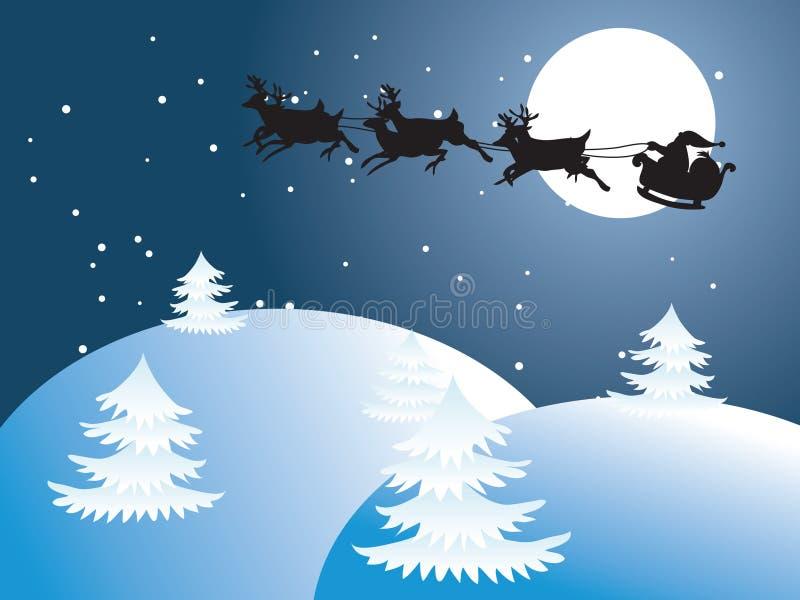 Christmas Santa Claus. Christmas Illustration Santa Claus stock illustration