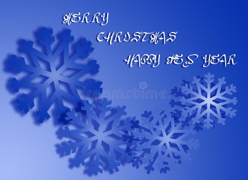 Christmas card 9 stock image