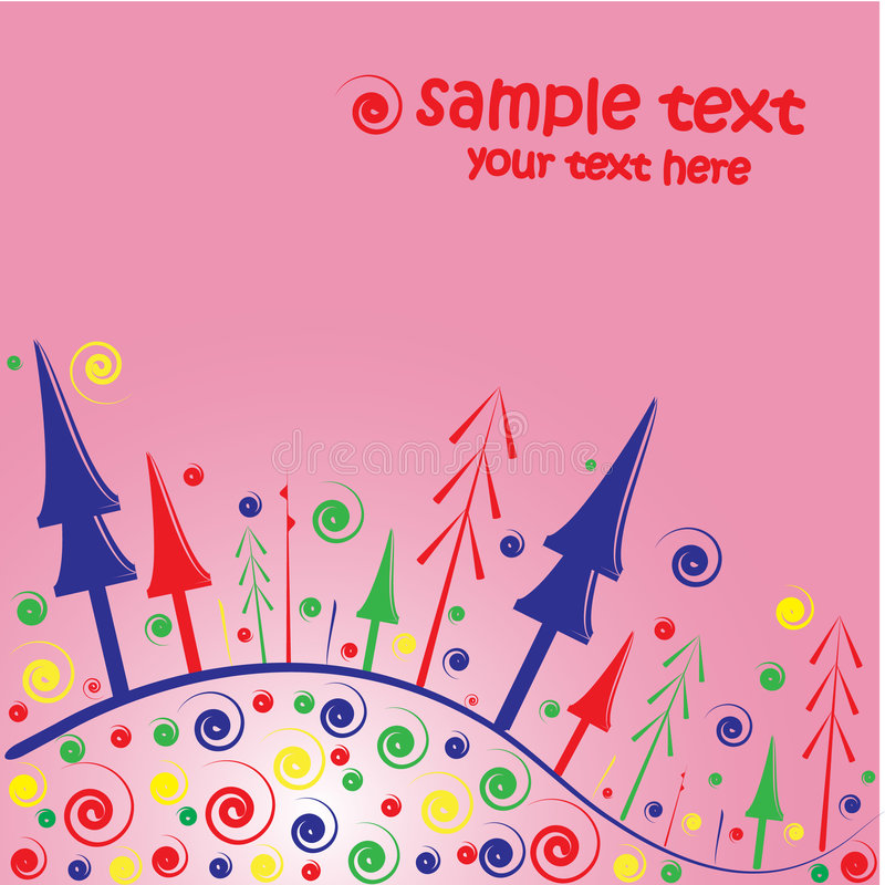 Download Christmas card background stock vector. Illustration of festive - 7267823