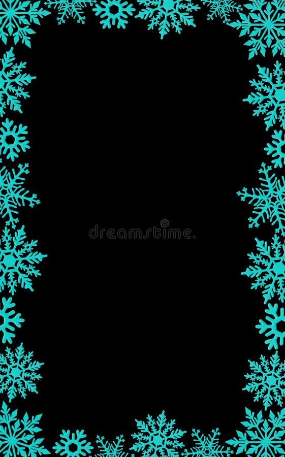 Christmas card background decoration border snowflakes glitter New year. Christmas card background decoration border red snowflakes glitter New year stock photography
