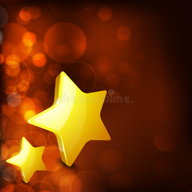Download Christmas Card Or Background With Golden Star. Stock Vector - Image: 26645838