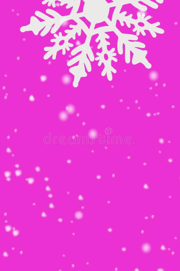 Christmas card background snowflakes snow white winter holidays New year royalty free stock photo