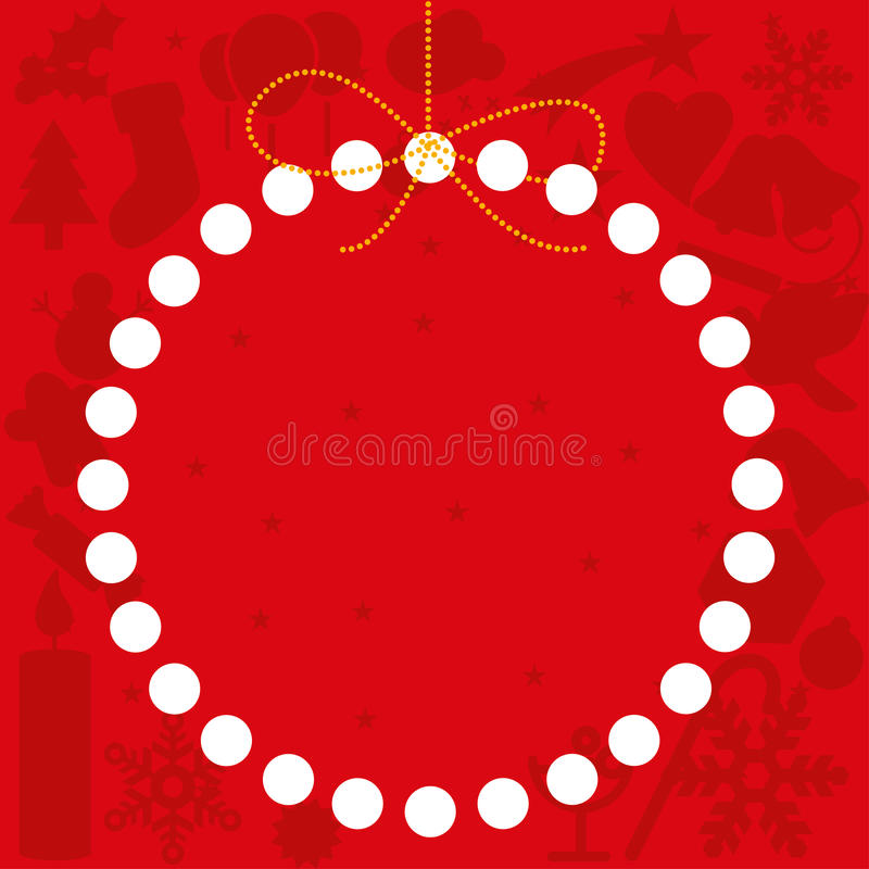 Download Christmas card copy space stock vector. Image of season - 28067707