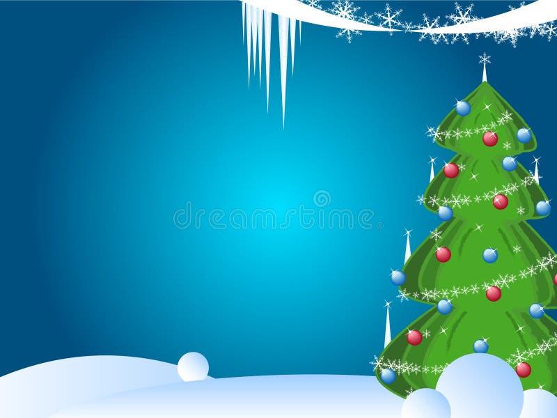 Christmas card design royalty free illustration