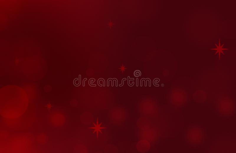 Christmas card holiday background. New year Abstract Glitter Defocused Background With Blinking Stars and sparks. Blurred Bokeh stock illustration