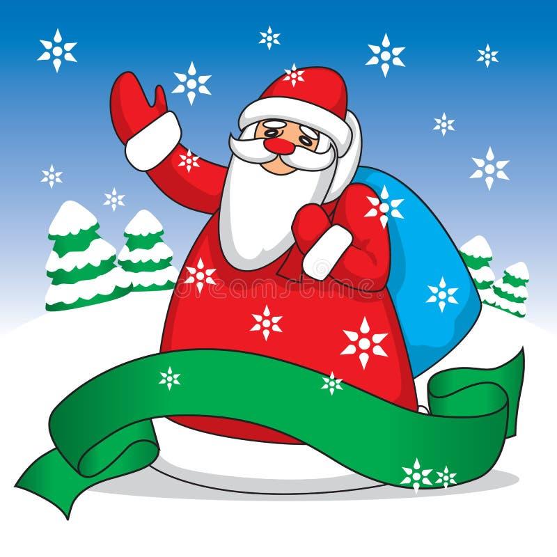 Christmas Card (illustration) royalty free illustration