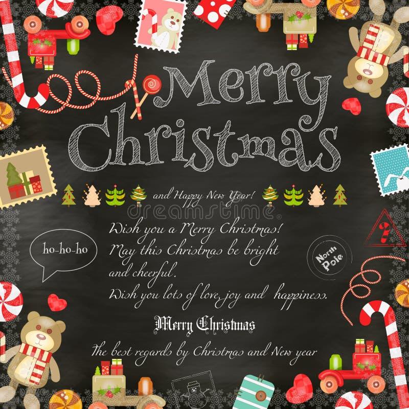 Christmas Card Stock Vector Illustration Of Snowman 79935496