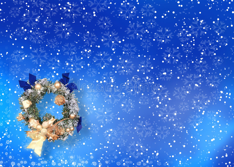 Download Christmas Card With Space For Wishes Stock Illustration - Illustration: 302947