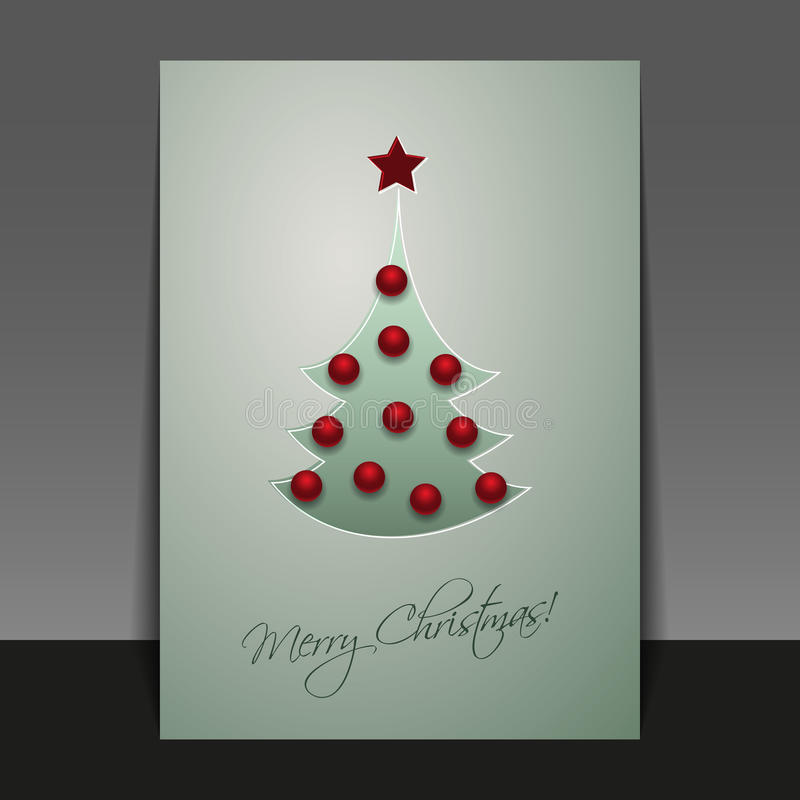 Download Christmas Card Template Royalty Free Stock Photography - Image: 33850097
