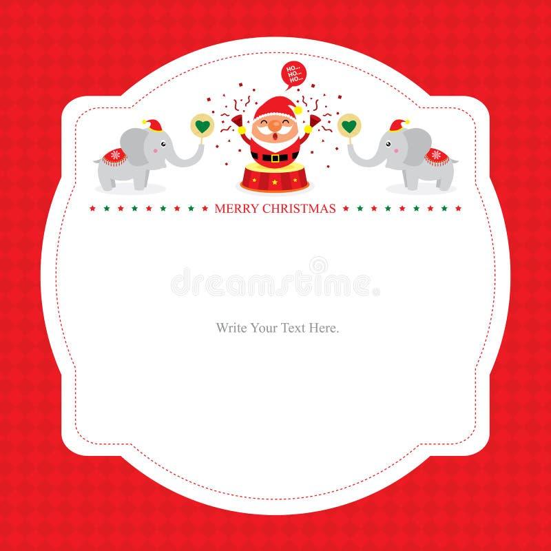 Santa Card Template Urgup Kapook Co
