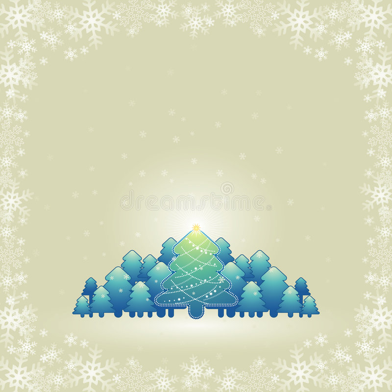 Download Christmas card, vector stock vector. Image of clipart - 3232285