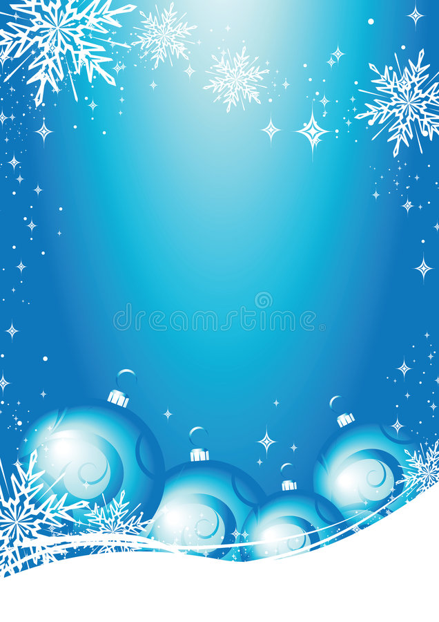 Christmas card vector stock illustration