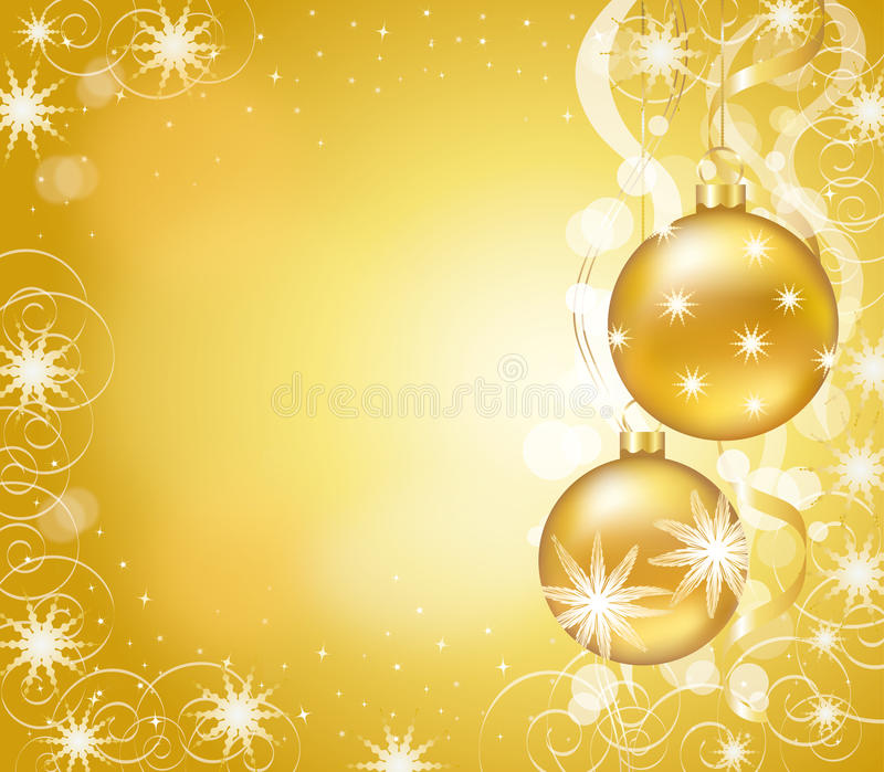 Download Christmas card stock illustration. Illustration of ball - 33726518