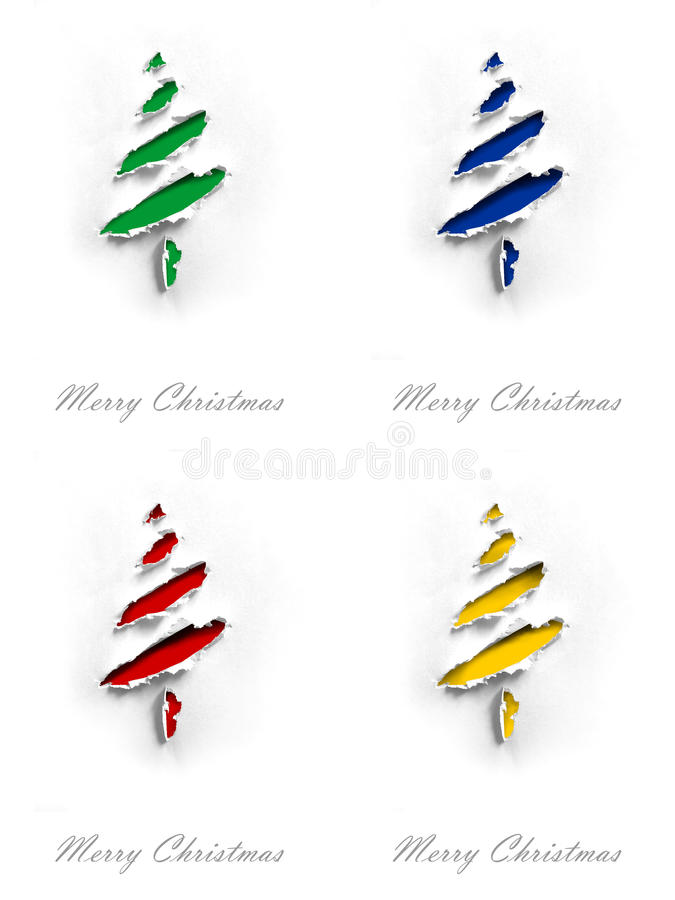 Christmas cards royalty free stock photography