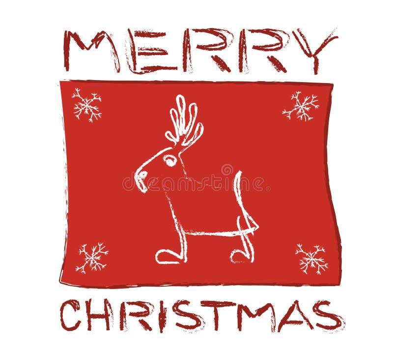 Download Christmas caribou stock vector. Image of santa, merry - 11509680