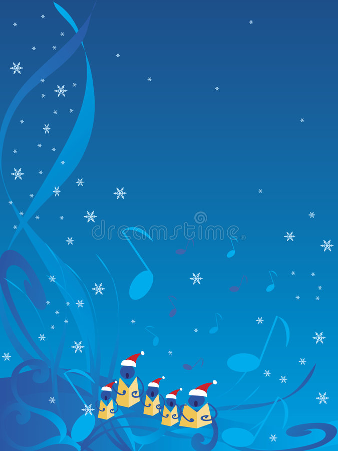 Free Christmas Carolers Royalty Free Stock Image - 3427266