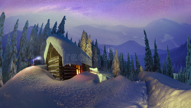 Download Christmas In The Carpathians Stock Photo - Image: 36648880